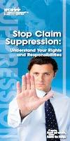 Stop Claim Suppression Brochure