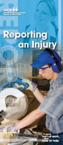 Reporting an Injury Brochure